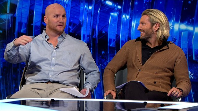 John Hartson and Robbie Savage