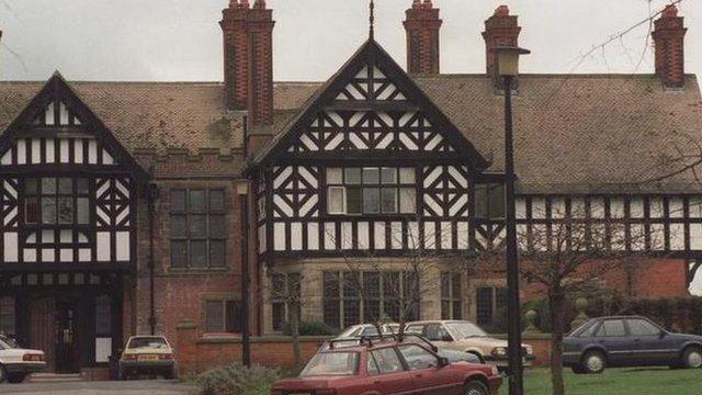 The former Bryn Estyn care home in 1992