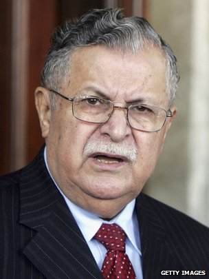 Jalal Talabani - archive photo