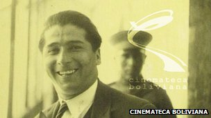 Alfredo Jauregui seen in the 1927 documentary The Fatal Lottery or the Emblem of death
