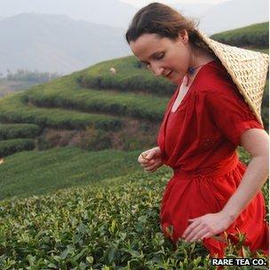 Henrietta Lovell, the Rare Tea Lady