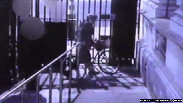 CCTV of Andrew Mitchell