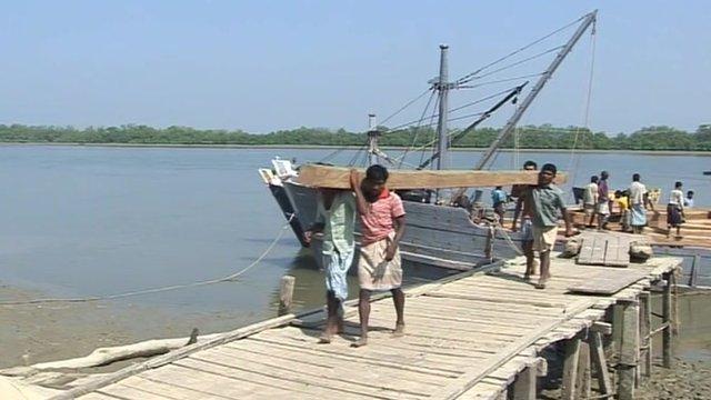 Burmese port