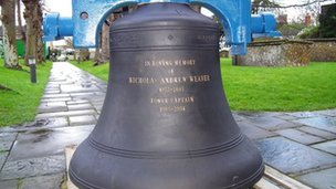 Replacement bell at St Michael's Church