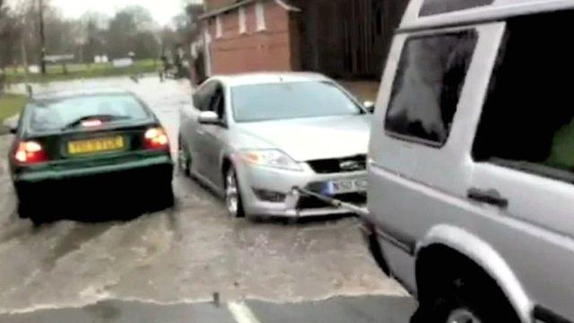 Flooding in Elsworth