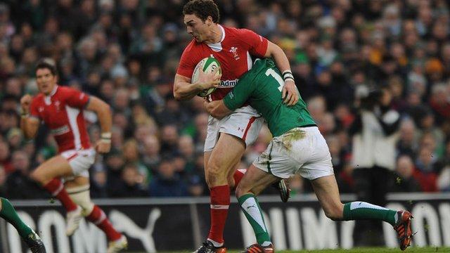 Wales's George North