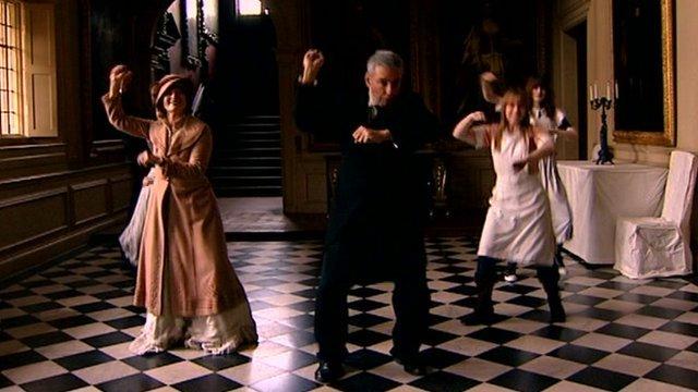 Gangnam-style dancing