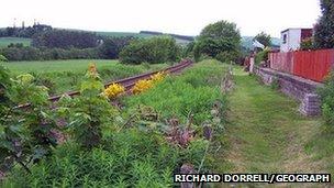 Seann stèisean Drochaid Sguideil. Dealbh: Richard Dorrell/Geograph