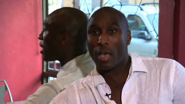 Former England captain Sol Campbell