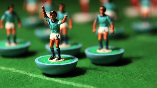 Manchester City in toy form