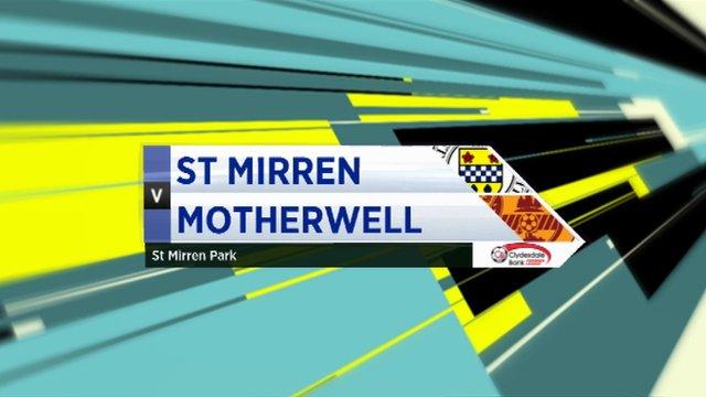 Highlights - St Mirren 2-1 Motherwell