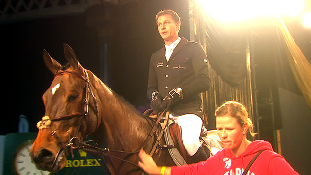 Marc Houtzager rides Sterrehof's Tamino