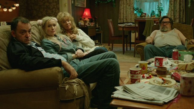 The Royle Family, watching TV