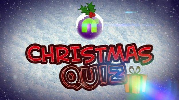 Dani Harmer takes the Newsround Christmas quiz