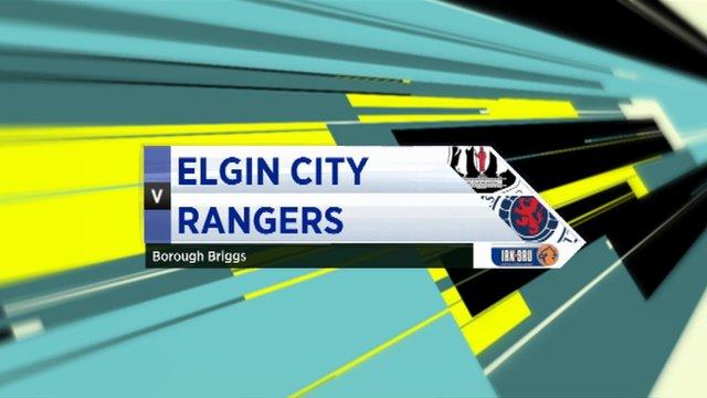 Highlights - Elgin City 2-6 Rangers
