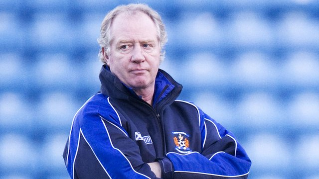 Kilmarnock assistant boss Jimmy Nicholl