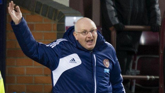 Heart of Midlothian manager John McGlynn