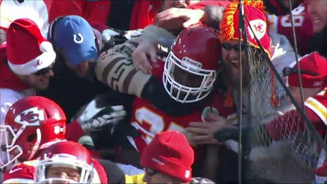 Kansas City Chiefs' Jamaal Charles