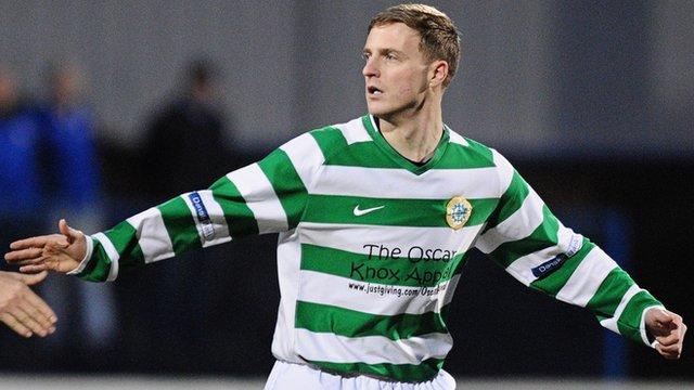 Ciaran Gargan scored Donegal Celtic's injury-time equaliser
