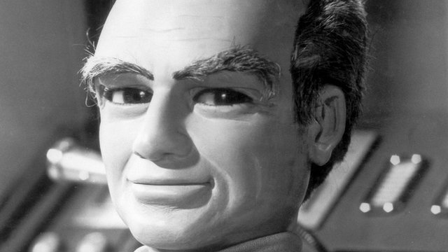 Thunderbirds puppet
