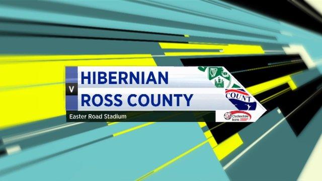 Highlights - Hibernian 0-1 Ross County