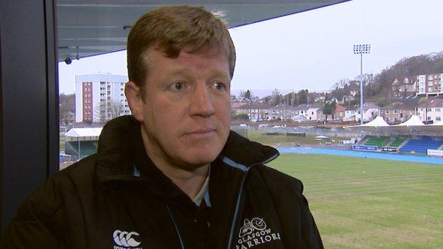 Glasgow Warriors forwards coach Shade Munro