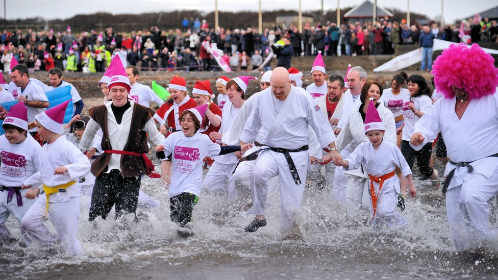 Boxing Day Dip at Prestwick