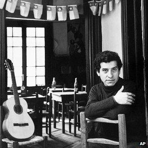 Victor Jara, archive photo