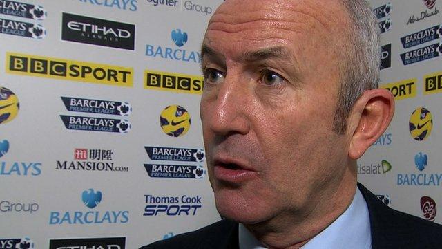 Stoke boss Tony Pulis