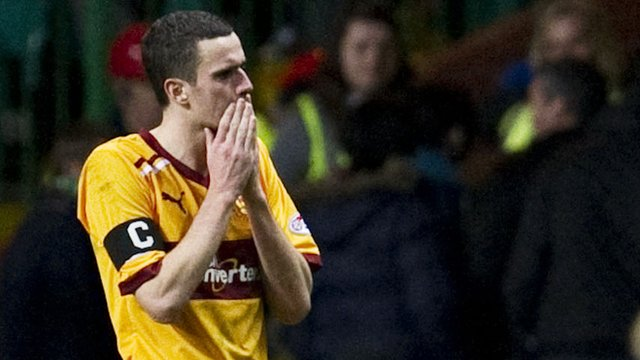 Motherwell forward Jamie Murphy