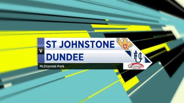 Highlights - St Johnstone 1-0 Dundee