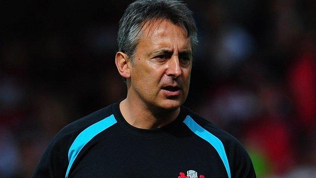 Gloucester's Director of Rugby Nigel Davies