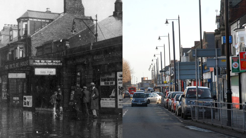 Bbc News In Pictures The Changing Face Of South Shields