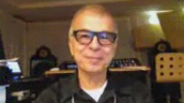 Music producer Tony Visconti