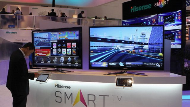 Gadgets on display at CES event in Las Vegas