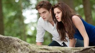 Film still from Twilight: Breaking Dawn Part 2