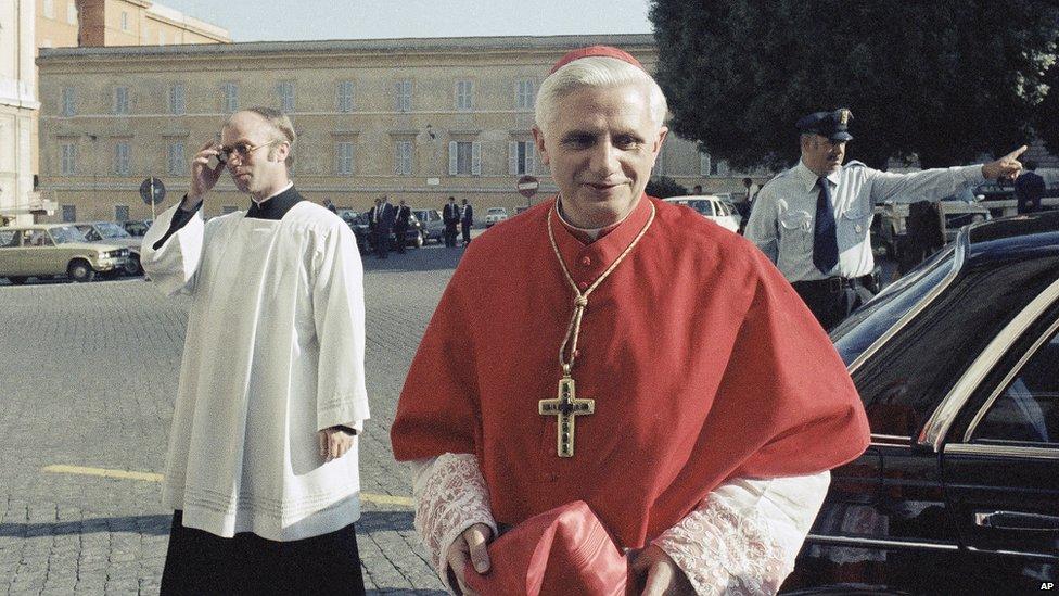 Image result for cardinal ratzinger