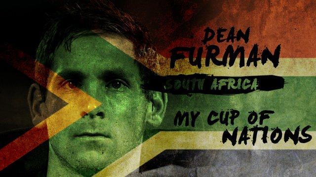 South Africa's Dean Furman