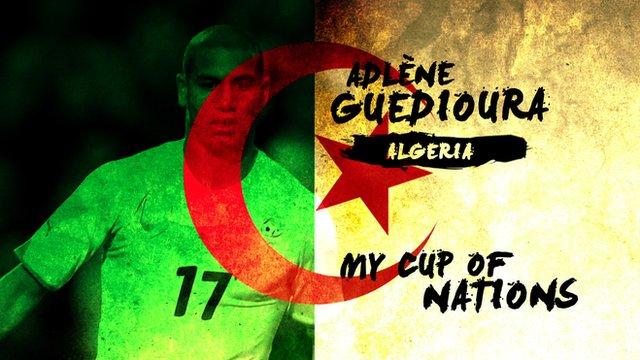 Algeria's Adlene Guedioura