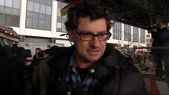 Passenger who was on board the New York ferry, Seastreak Wall Street
