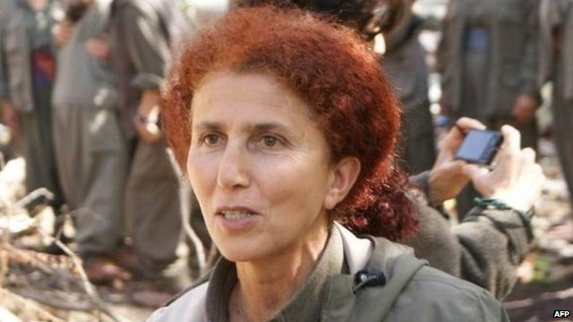 PKK co-founder Sakine Cansiz (undated file photo)
