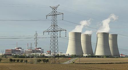 The Temelin nuclear power plant