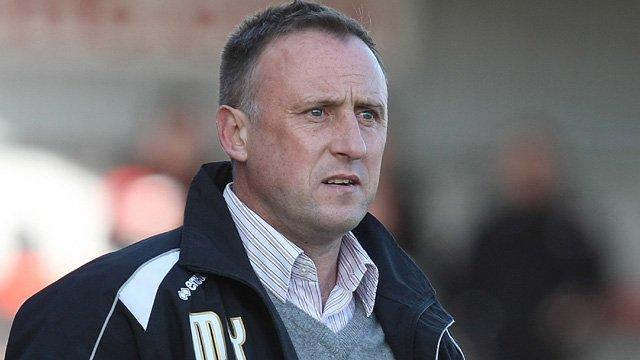 Cheltenham Town Manager Mark Yates