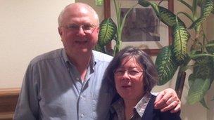The real Mark and Cora Lijek