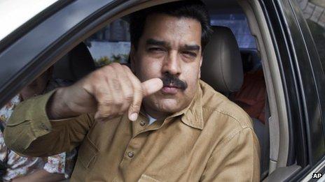 Nicolas Maduro in Cuba, 12 Jan 2013