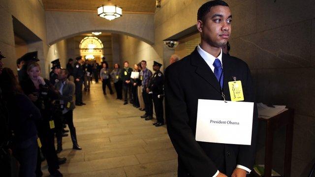 President Obama stand-in