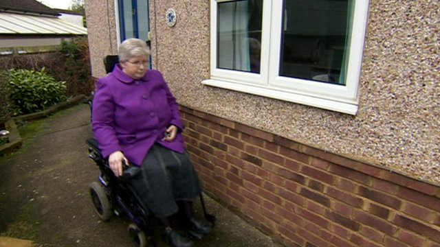 Jane Young, Disability Living Allowance claimant