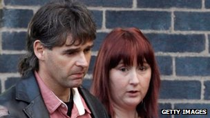 April's parents, Coral and Paul Jones attended the hearing in Mold