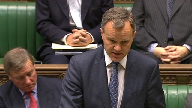 Mark Simmonds in Commons