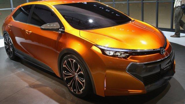 Toyota Furia concept car